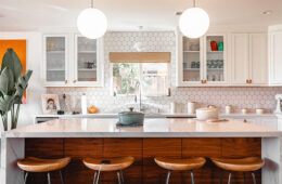 Layered kitchen lights